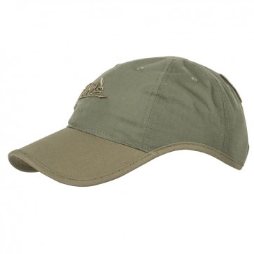 Бейсболка LOGO PolyCotton R/S олива/Adaptive Green HELIKON