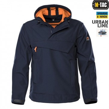 Анорак Soft Shell Navy/Orange M-TAC