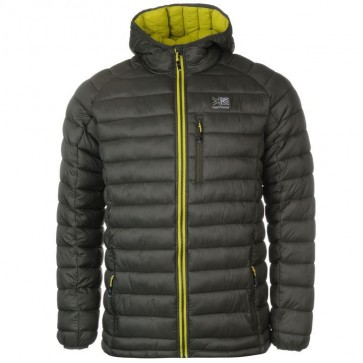 Куртка Hot Crag Insulated Jacket Mens GreenShade/Lime Karrimor