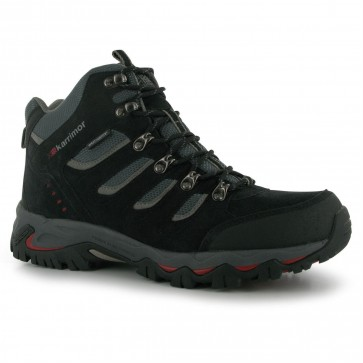Взуття трекінгове Mount Mid Mens Walking Boots Black Karrimor