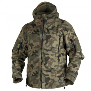 Куртка флісова PATRIOT PL Woodland HELIKON