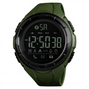Годинник 1326 з bluetooth+ Olive Skmei