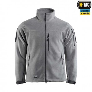 Куртка флісова Alpha Microfleece Jacket Gen.2 Grey M-TAC