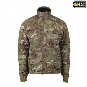 Куртка флісова Alpha Microfleece Jacket Multicam M-TAC