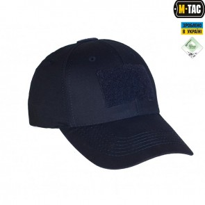 Бейсболка тактична Elite Flex R/S Dark Navy Blue M-TAC