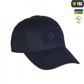 Бейсболка тактична Flex Pirate Skull R/S Dark Navy Blue M-TAC