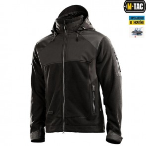 Куртка флісова Norman Windblock Fleece Black M-TAC