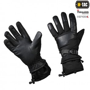 Рукавиці зимові Polar Tactical Thinsulate Black M-TAC