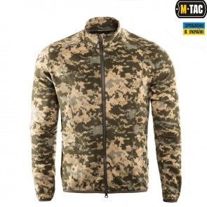 Флісова кофта Stealth Microfleece Army піксель ЗСУ M-TAC