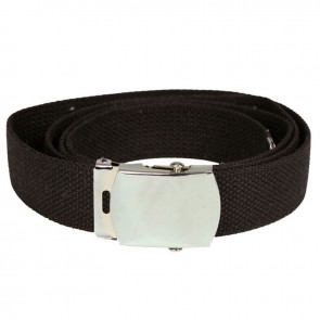 Ремінь брючний US Cotton Web Belt Black Mil-Tec