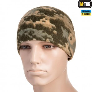 Шапка флісова WATCH CAP 260G піксель ЗСУ M-TAC