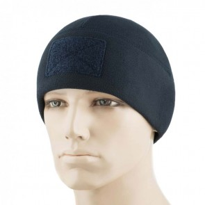 Шапка флісова Watch Cap Elite 270г/м2 Velcro Dark Navy Blue M-TAC
