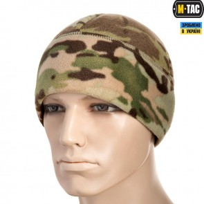 Шапка флісова Watch Cap Elite фліс/сітка Windblock 380G Multicam M-TAC