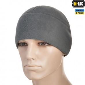 Шапка флісова Watch Cap Windblock 380G сіра M-TAC