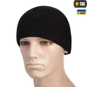 Шапка флісова Watch Cap with SLIMTEX 260G Black M-TAC