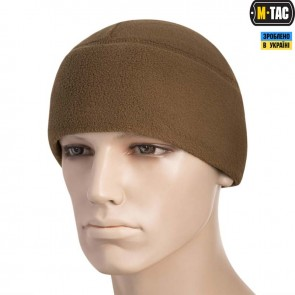 Шапка флісова Watch Cap with SLIMTEX 260G Coyote M-TAC