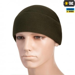 Шапка флісова Watch Cap with SLIMTEX 260G Olive M-TAC