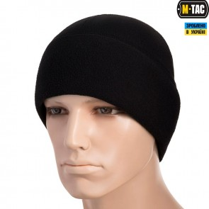 Шапка флісова Watch Cap with SLIMTEX 330G Black M-TAC