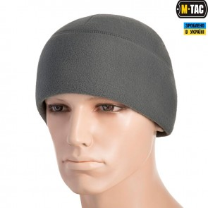 Шапка флісова Watch Cap with SLIMTEX 330G Grey M-TAC