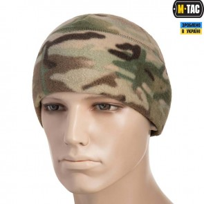 Шапка флісова Watch Cap with SLIMTEX 330G Multicam M-TAC