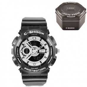 Годинник GA-110 Black-Silver Box C-SHOCK