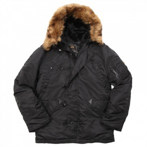 Куртка N3B Parka Black Alpha Industries