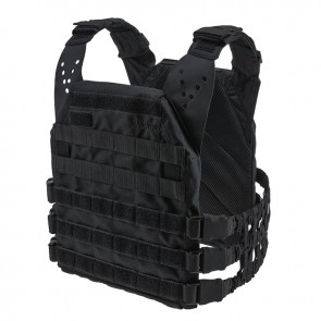 Плитоноска Plate Carrier Perun 2/19 HD Black Velmet
