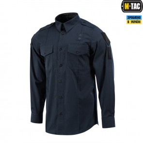 Сорочка Police Lightweight Flex Dark Navy Blue M-TAC