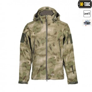 Куртка Soft Shell URBAN LEGION A-TACS FG M-TAC