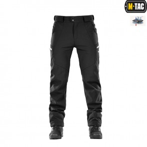 Штани Soft Shell Winter Black M-TAC