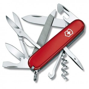 Ніж Swiss Army Mountaineer червоний Victorinox
