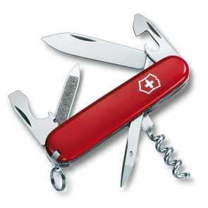 Ніж Swiss Army Sportsman 0.3803 червоний Victorinox
