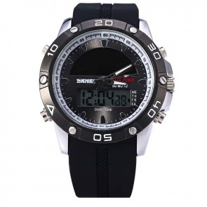 Годинник 1064 Solar Power Black Skmei