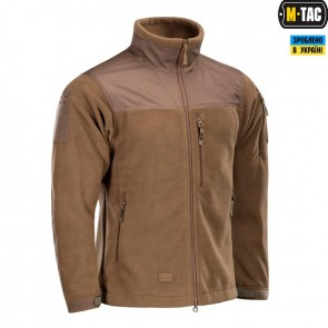 Куртка флісова Alpha Microfleece Jacket Gen.II Dark Coyote M-TAC