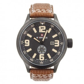 Годинник NF9057M Brown Naviforce