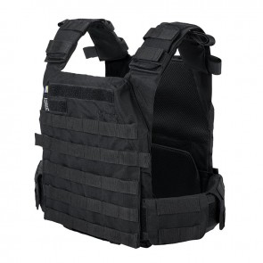 Плитоноска Plate Carrier Perun 2M Black Velmet