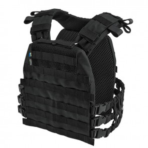 Плитоноска Plate Carrier Perun 3 Black Velmet