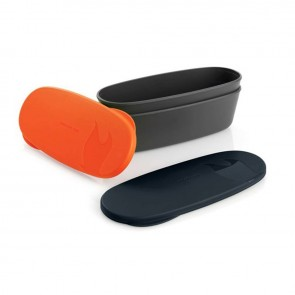 Набір туристичний SnapBox oval 2-pack Orange/Black Light My Fire