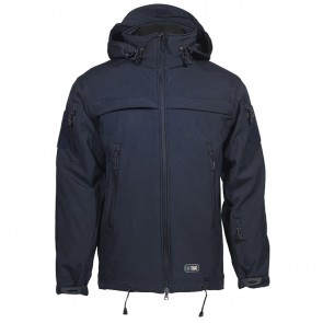 Куртка Soft Shell POLICE navy blue M-TAC
