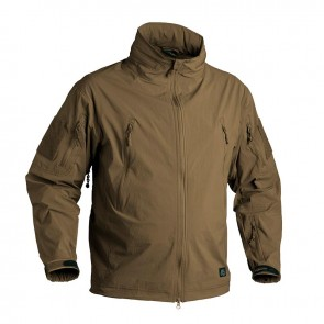 Куртка Soft Shell TROOPER Mud Brown HELIKON