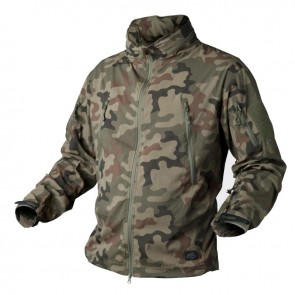Куртка Soft Shell TROOPER PL Woodland HELIKON