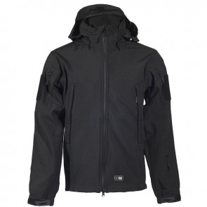 Куртка SoftShell (Софтшелл) URBAN LEGION BLACK M-TAC