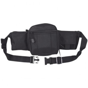 Сумка на пояс TACTICAL FANNY PACK чорна Mil-Tec