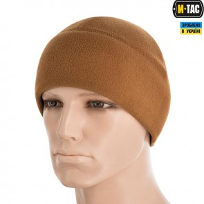 Шапка флісова Watch Cap Elite (340г/м2) with Slimtex Coyote Brown M-TAC