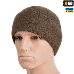 Шапка флісова Watch Cap Elite (340г/м2) with Slimtex Dark Olive M-TAC