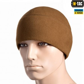 Шапка флісова Watch Cap Elite Windblock 295 Dark Coyote M-TAC