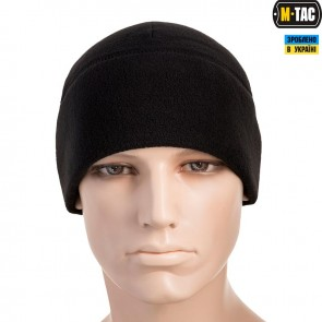 Шапка флісова Watch Cap Windblock 340G Black M-TAC