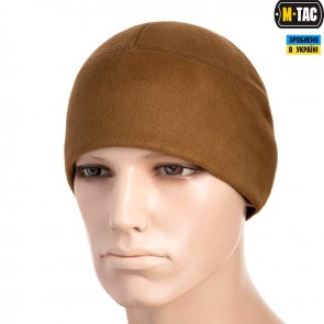 Шапка флісова Watch Cap Windblock 380G Coyote Brown M-TAC