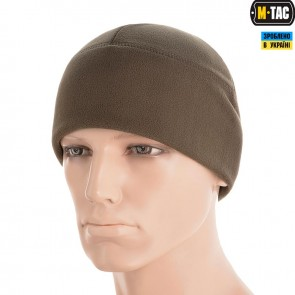 Шапка флісова Watch Cap Windblock 380G Dark Olive M-TAC