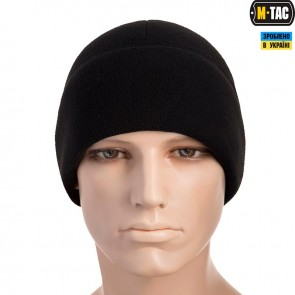 Шапка флісова Watch Cap With Slimtex Windblock 340G Black M-TAC